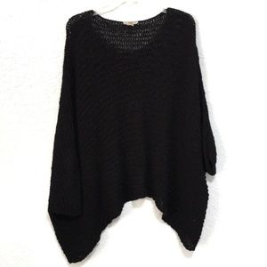 Helmut Lang Sweaters - Helmut Lang Open Knit Shrug Poncho Sweater M/L
